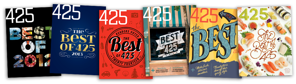 Best of 425 magazine covers